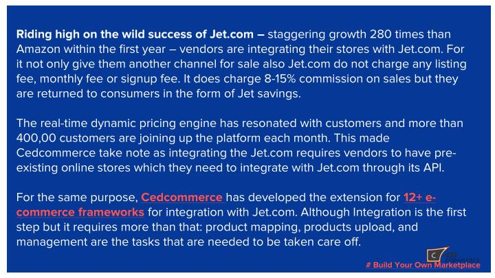 Riding high on the wild success of Jet.com