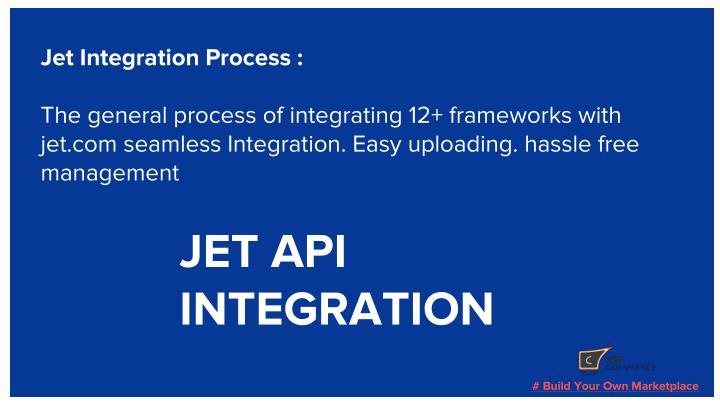 Jet Integration Process :