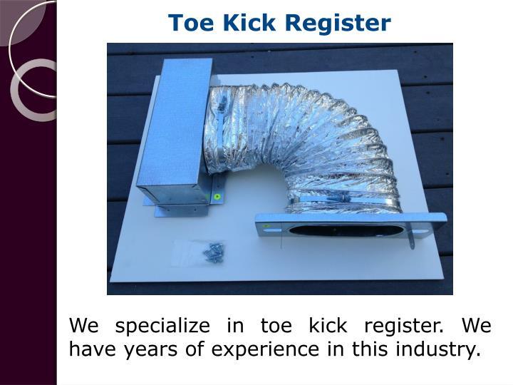 Toe Kick Register