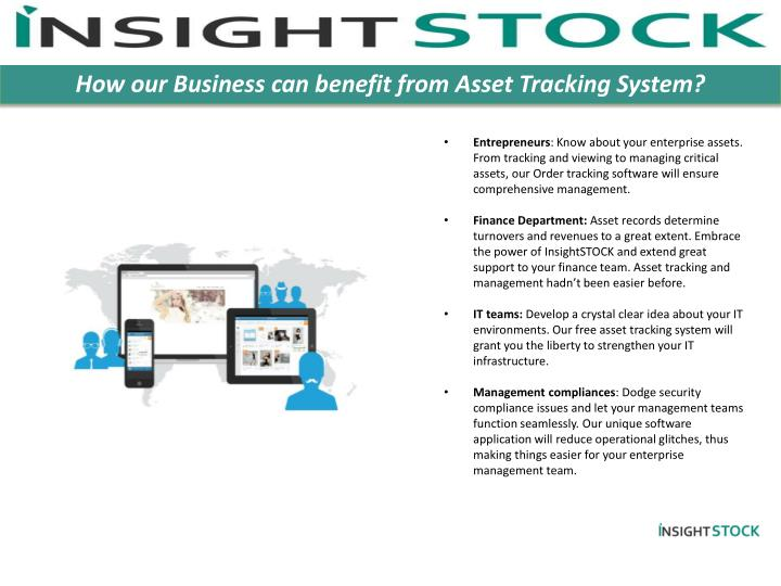 How our Business can benefit from Asset Tracking