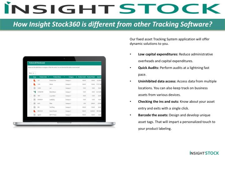 How Insight Stock360 is different from other Tracking