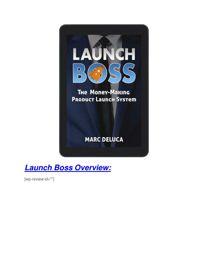 Launch Boss