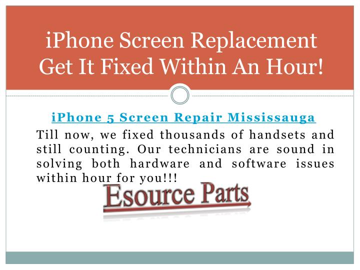 how to get your iphone screen fixed