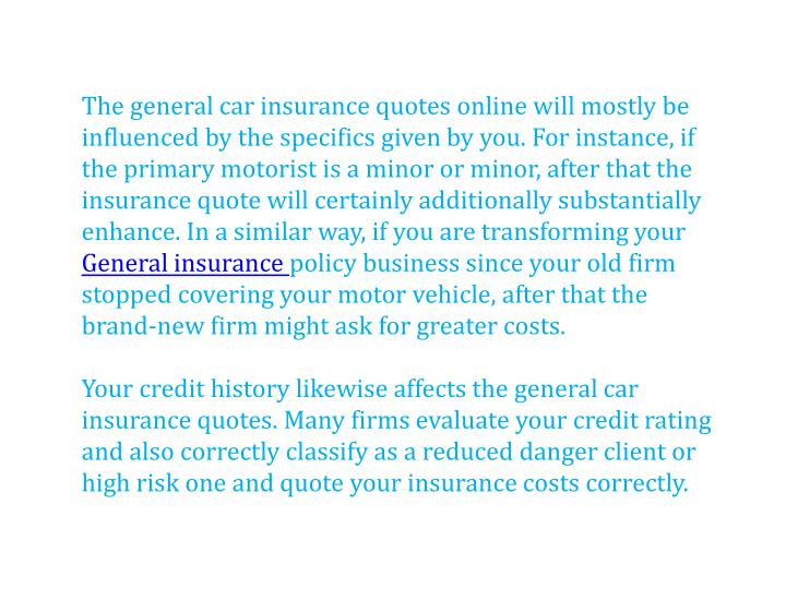 Ppt Compare The General Insurance Quotes Online Powerpoint Presentation Id 7418396