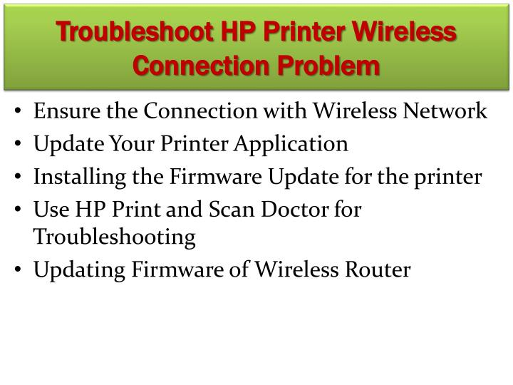 how to connect printer with connecting wlan