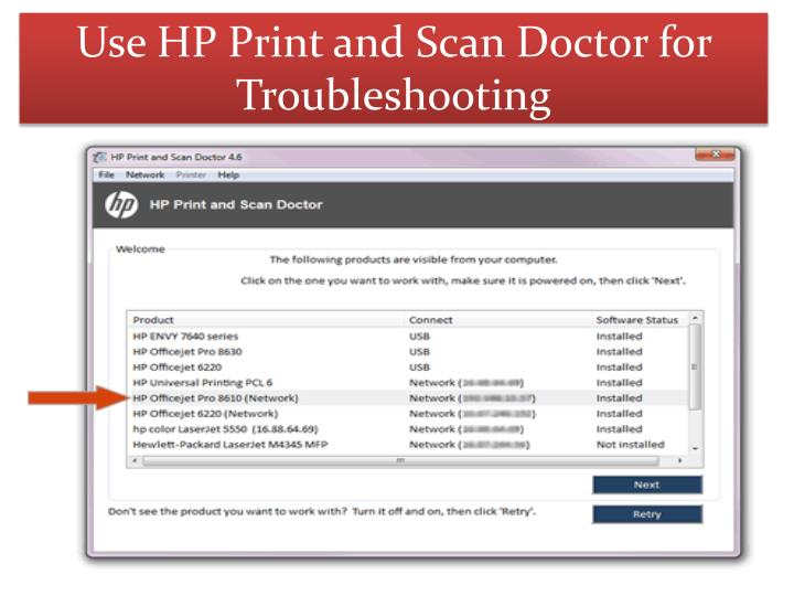Print and scan doctor hp télécharger