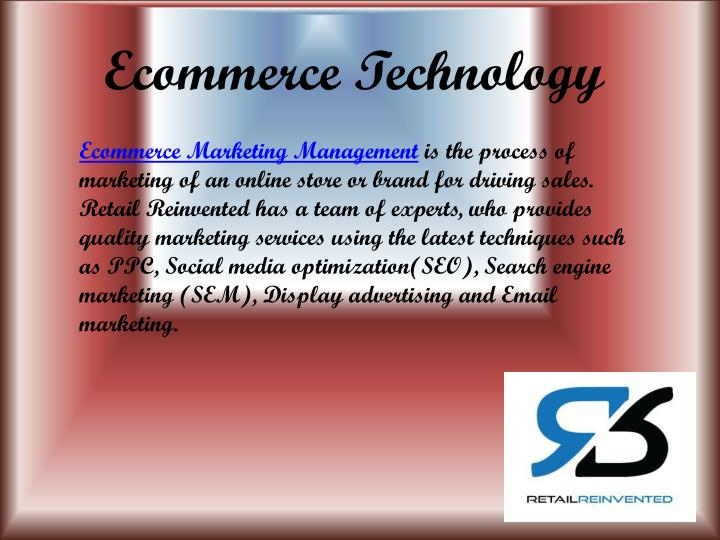Ecommerce Technology