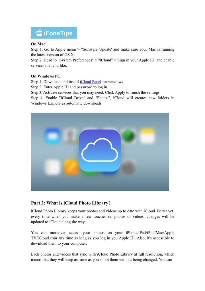 On Mac: