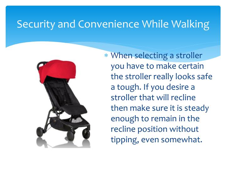 Security and Convenience While Walking