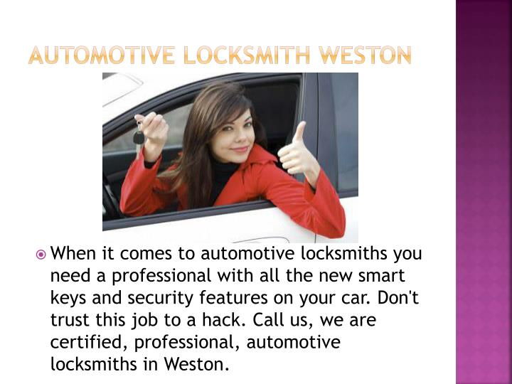 Automotive Locksmith Weston