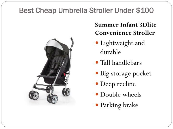 Best Cheap Umbrella Stroller Under $100