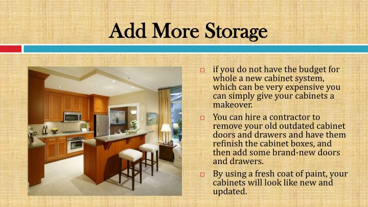 Add More Storage