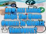 how mls listing helps the home owners in greater vancouver