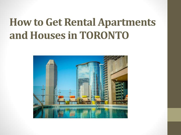How to Get Rental Apartments