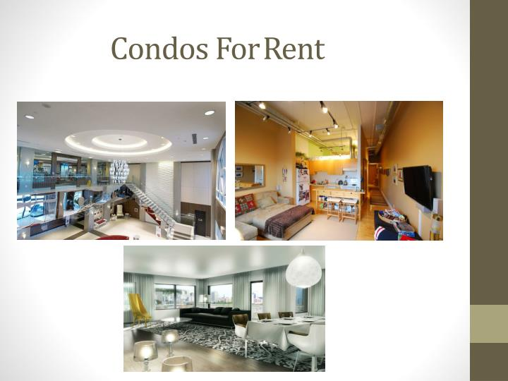 Condos ForRent