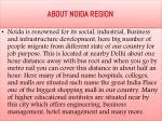 about noida region