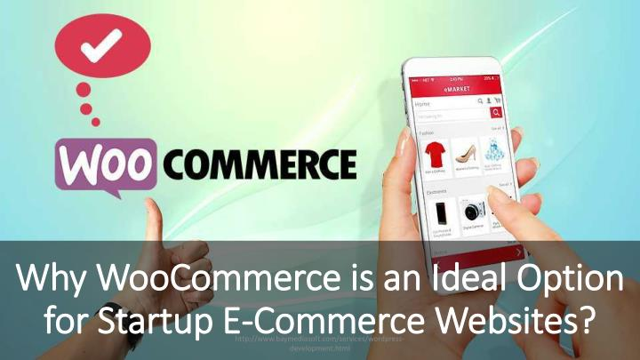 Why woocommerce is an ideal option for startup e commerce websites