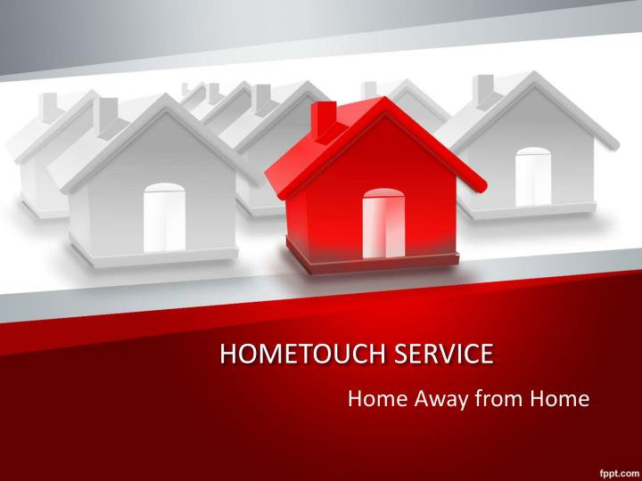 Hometouch service
