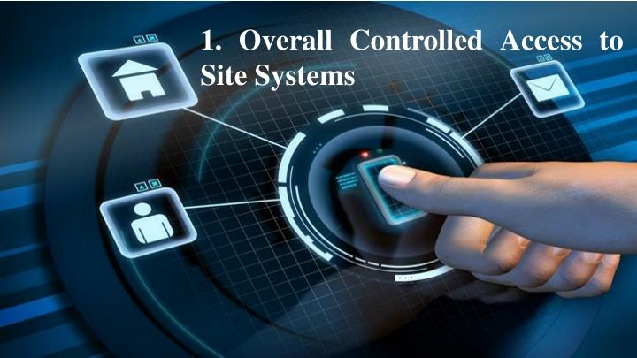 1. Overall Controlled Access to Site Systems