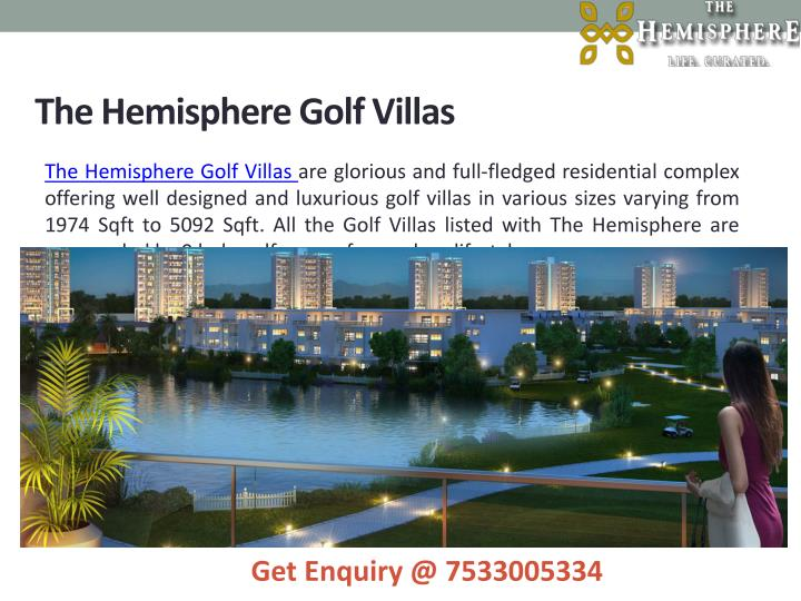 The Hemisphere Golf Villas
