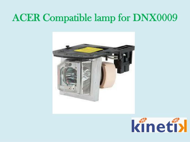 ACER Compatible lamp for