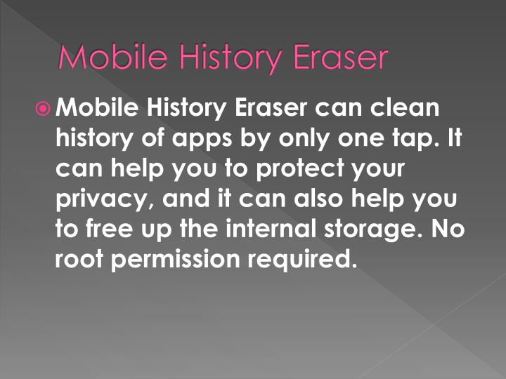 Mobile History