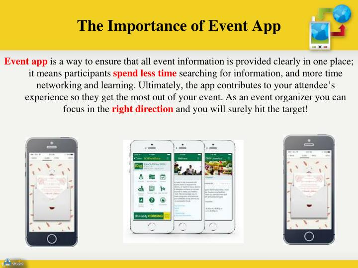 The importance of event app