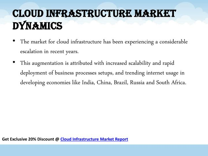 Cloud Infrastructure Market Dynamics