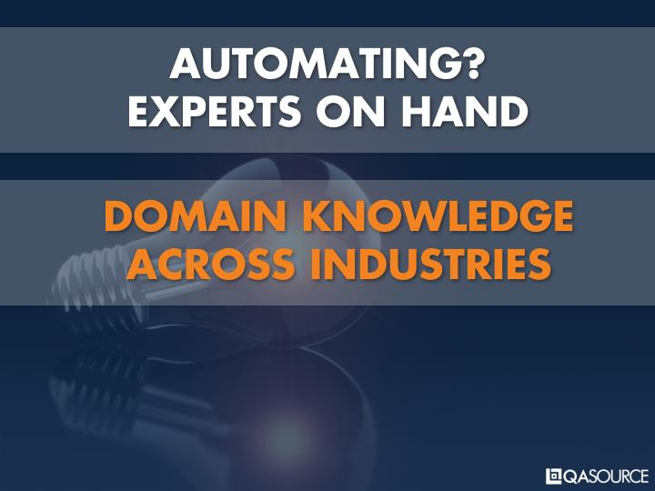AUTOMATING?