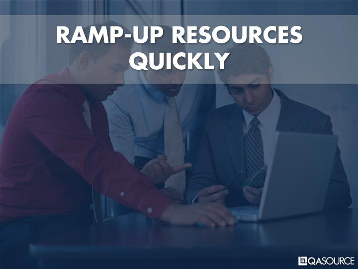 RAMP-UP RESOURCES