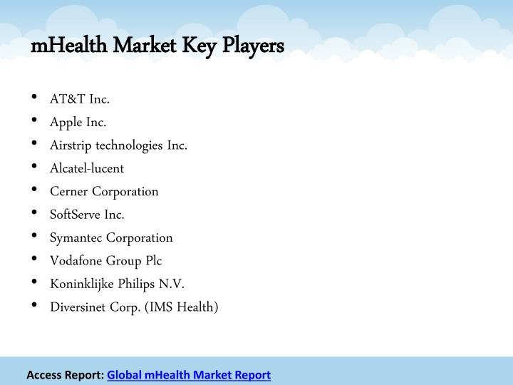 Mhealth market key players