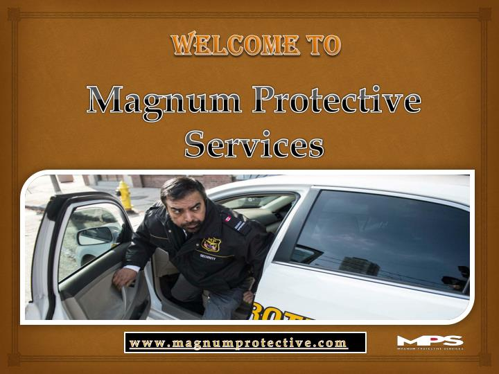 Magnum protective services