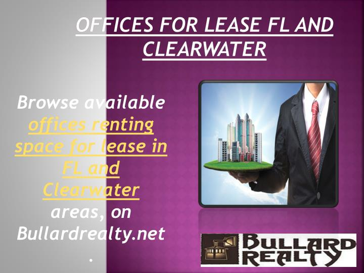 Offices for lease fl and clearwater