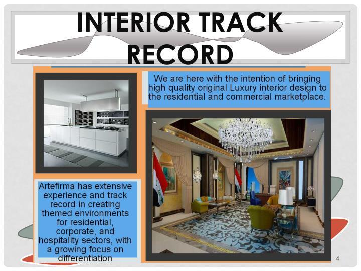 Interior track Record