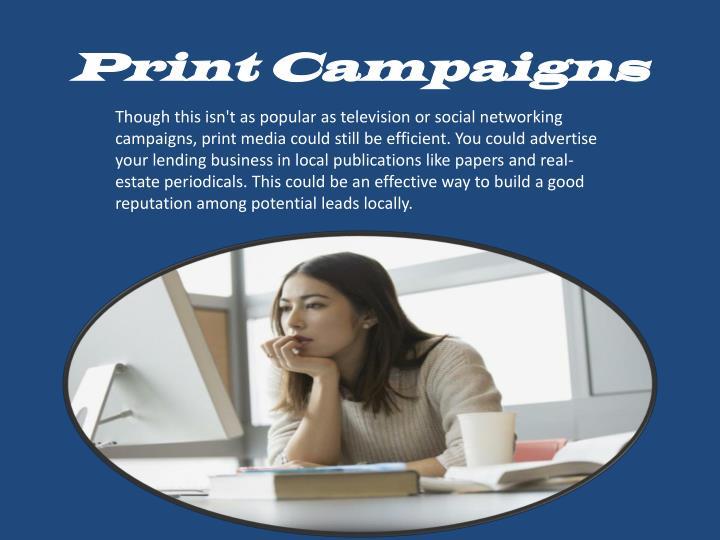 Print Campaigns