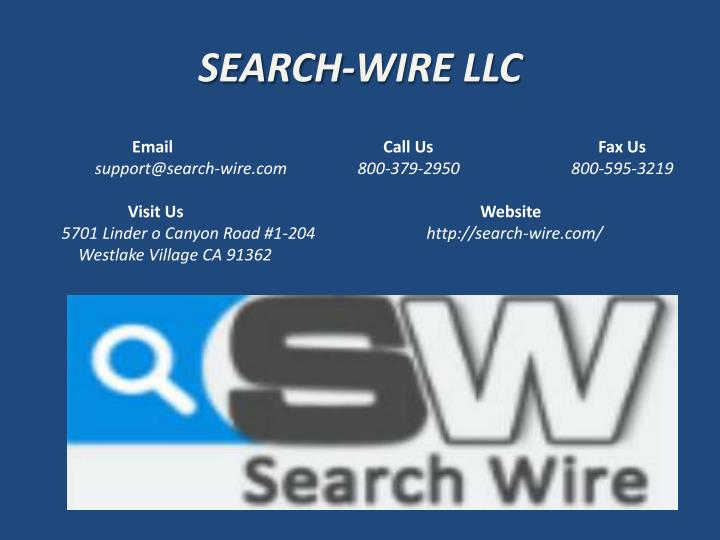 SEARCH-WIRE LLC