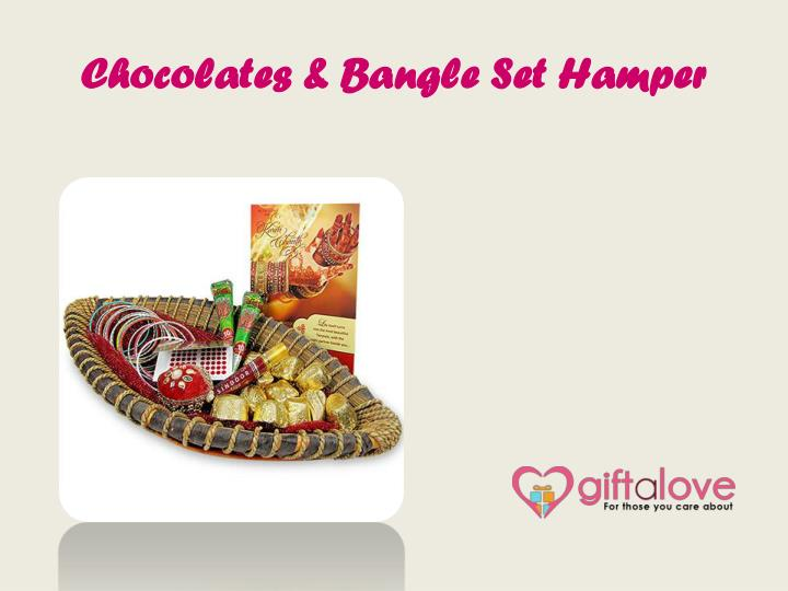 Chocolates & Bangle Set Hamper