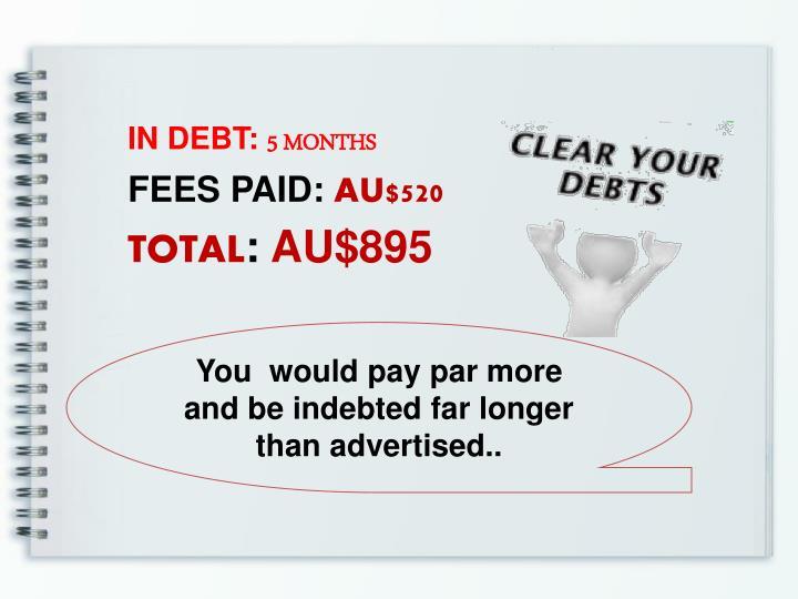 IN DEBT: