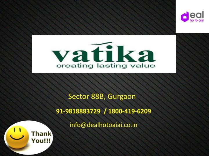 Sector 88B, Gurgaon