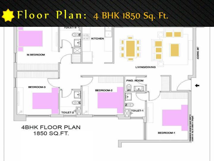 Floor Plan: