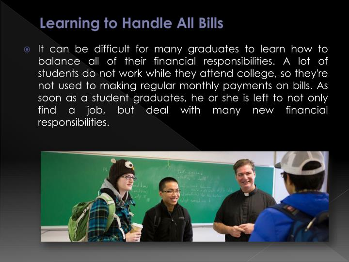 Learning to Handle All Bills