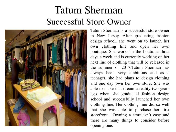 Tatum Sherman