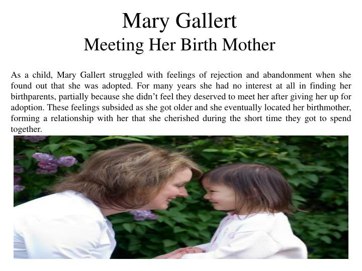 Mary Gallert