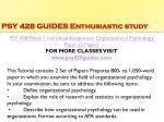 psy 428 guides enthusiastic study3