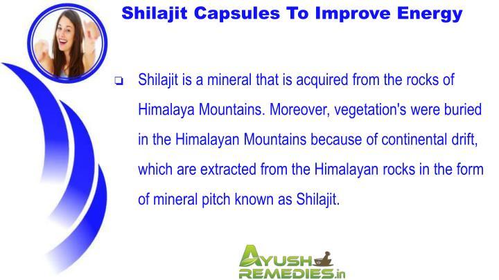 Shilajit