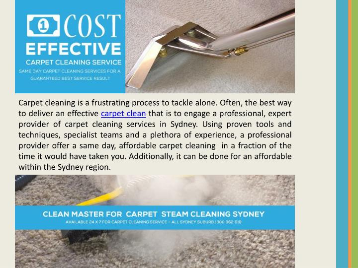 Carpet cleaning is a frustrating process to tackle alone. Often, the best way to deliver an effective