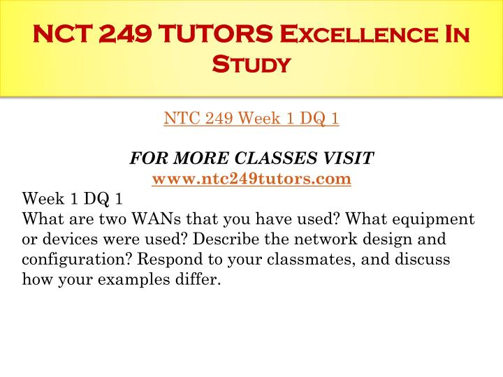 Nct 249 tutors excellence in study1