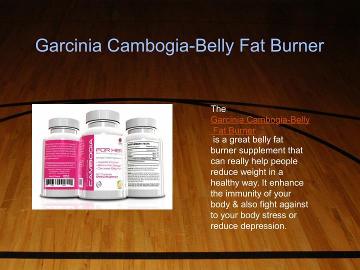 Garcinia Cambogia-Belly Fat Burner