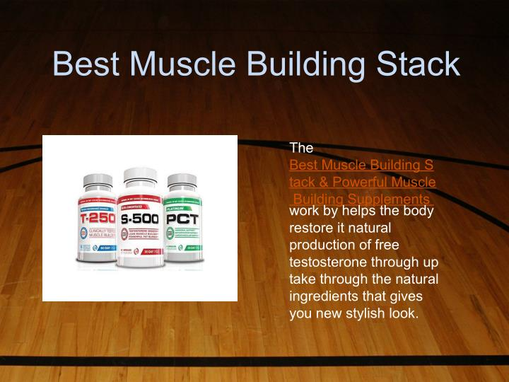 Best Muscle Building Stack
