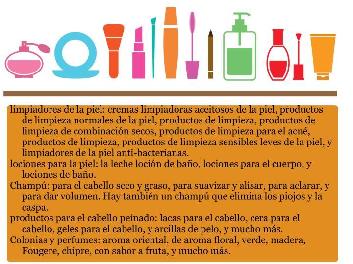limpiadores de la piel: cremas limpiadoras aceitosos de la piel, productos